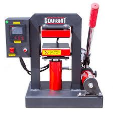 squi rosin presses home v3 hydraulic 12x12cm rosin press front view electric rosin press