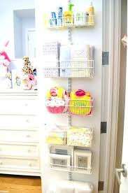 baby closet ideas 5 back of the door buckets girl room