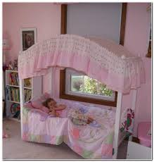 Girls Toddler Bed With Canopy | Furniture Modern and Unique Design