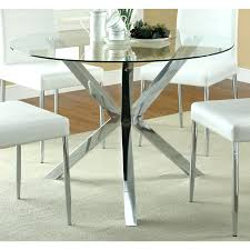 tempered glass dining table black full size tables chairs coaster company chrome round top set argos