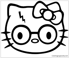 Find great deals on ebay for hello kitty and dear daniel. Hello Kitty Harry Potter Coloring Pages Cartoons Coloring Pages Free Printable Coloring Pages Online