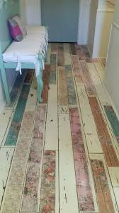 can you paint laminate flooring over i spray floor white