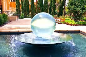 ball water fountain s silver u23