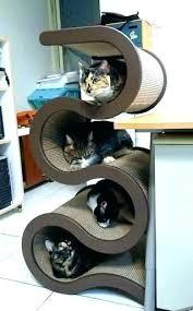 cool cat tree furniture. Best Cat Furniture Tree Plans Cool Trees .