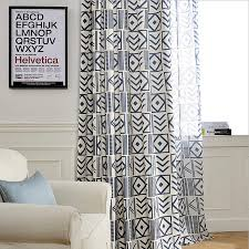 Geometric Pattern Curtains Inspiration Nordic Modern High Quality Living Room Bedroom Balcony Geometric