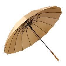 ThreeH Bamboo Stick <b>Umbrella Auto</b> Open Solid Color <b>Fashionable</b> ...
