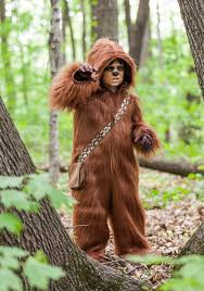 star wars chewbacca costume hoo brown view larger