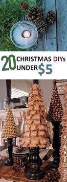 20 Christmas DIYs Under $5 -