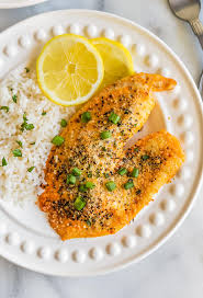 parmesan crusted lemon pepper tilapia is the best tilapia recipe we have ever tasted this