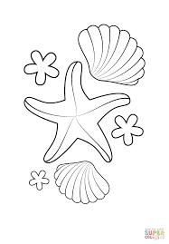 Coloriage Toiles De Mer Et Coquillages Coloriages Imprimer