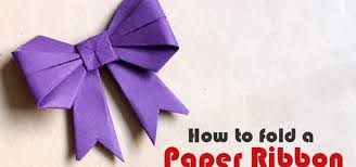 How To Fold A Paper Ribbon Origami Wonderhowto