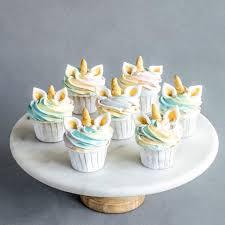 12 Pieces Of Unicorn Cupcakes Eat Cake Today Birthday Cake