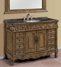 inch single sink bathroom vanity with marble top