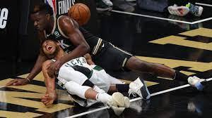 NBA: Giannis schlimm verletzt – Horror-Szene im Spiel Bucks vs. Hawks -  US-Sport - Bild.de