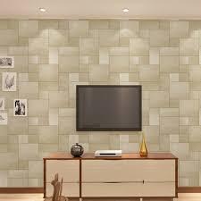 Small Picture Aliexpresscom Buy Square Lattice Vinyl Wall Papers Home Decor
