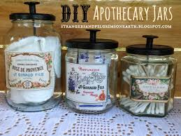 make your own decorative apothecary jars diy