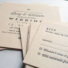 Sample Of Weeding Invitation Sample Wedding Invitations Letterpress Printed