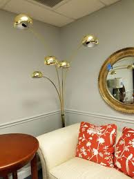 overarching floor lamp. Unique Overarching Floor Lamp New Brass With Marble Base West Elm Reviews N