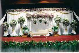 Flower Decoration Design Bangalore Stage Decoration Design 100 WeddingOkay Wedding 1