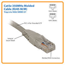cat5e molded patch cable 350mhz rj45 male gray 100 ft n002 100 gy share a link