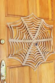 How To Make A Giant Spider Web Halloween Craft Giant Kirigami Spider Webs Babble Dabble Do