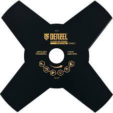 """<b>Диск для триммера</b> """"Denzel"""", 230 х 25,4 мм, толщина 1,6 мм, 4 ..."""