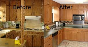 cabinet refacing before and after. Unique Before Cabinet Refacing Before And After Ideas Old Kitchen Of Reface Cabinets That  Amazing Picture To Refacing Before And After