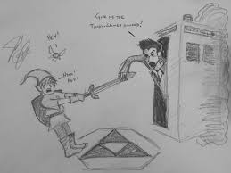 Day 15 - The Doctor in Hyrule. I mean,... - Jacob Aaron Godsey Art    Facebook
