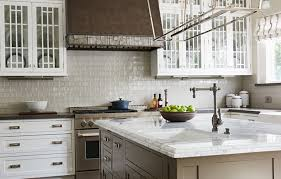 Kitchen With Glass Tile Backsplash Classy Walker Zanger
