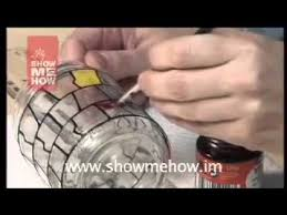 paint glass with acrylic paints 2