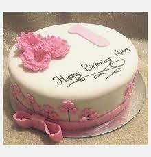 Baby Girl 1st Birthday Cake Ideas Cutebirthdaycakega