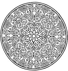 Coloring Intricate Coloring Pages For Adults Mandala Page Colouring