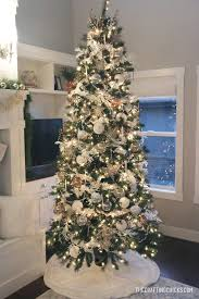 diy white gold michaels makers dream tree christmas decor home decor