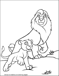 Small Picture Simba Zazu Lion King Coloring Page