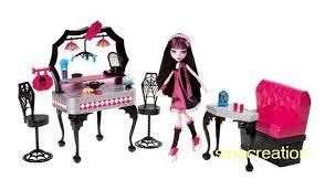 Fashion Monster High Dolls &Amp Furniture Set 2 Monster Hight