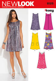 New Look Pattern 6125 Misses Dresses Sewing Patterns Online