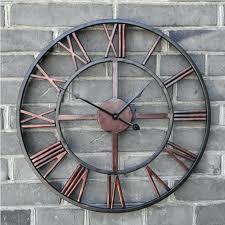 large outdoor clocks waterproof glamorous large outdoor wall clocks oversized outdoor wall clocks black wrought iron