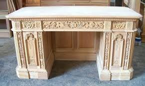 custom made office desks. Custom Built Office Furniture Resolute Desk Replica Made Solid Mahogany Presidential Executive . Desks