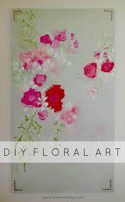 Diy Paint Ideas Livelovediy 10 Diy Art Ideas Easy Ways To Decorate Your Walls