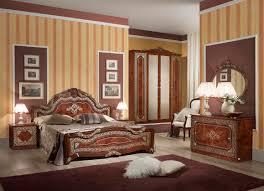 Schlafzimmer Set Elena In Walnuss Klassisch Design 180x200 Cm Mit