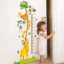 Amazon Com Kids Growth Chart Children Height Chart Growth