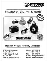 encoder installation and trouble shooting general installation wiring guide