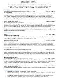 resume c eacute cile borkhataria multimedia science journalist resume