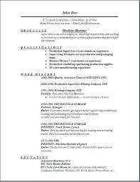 functional resume examples for heavy equipment operator best  heavy