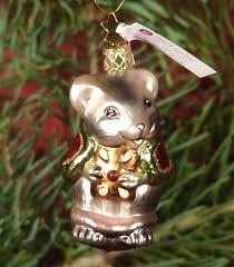 Details Zu Christbaumschmuck Glas Christbaumkugel Maus Weihnachtsmaus Inge Glas 85 Cm