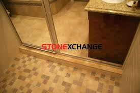 how to clean travertine shower window sills installed as shower curbs curb cleaning shower floor best