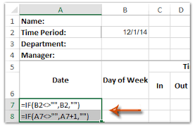 Time Sheet Doc How To Create A Time Sheet Template In Excel
