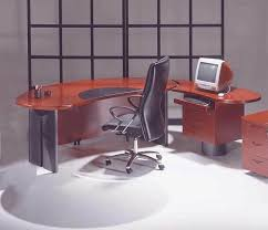 corporate office desk. 2pc contemporary oval executive office desk set uutmo2 mahogany only corporate