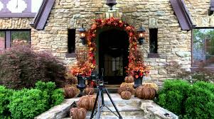 Decorating Your Porch for Fall and Halloween - Grandin Road - YouTube
