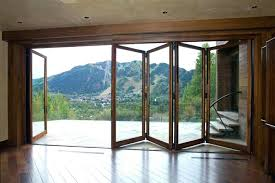 sliding glass wall cost awesome innovative folding patio doors panoramic within 10